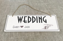 Personalized Outdoor Wedding Reception & Ceremony Decoration Directional Signs wedding sign board guild board SB012H