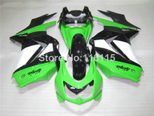 Fairing kit for Kawasaki Ninja fairings 250r 2008- 2014 injection molding EX250 08-14 white black green custom set ZX250 NZ52
