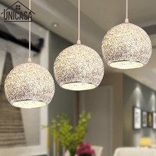Cord Art Deco Modern Hollow Wrought Aluminum Elegant Vintage American Bar Lighting Kitchen Office Ceiling Lamp Pendant Lights(China)