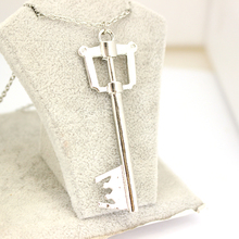 Kingdom Hearts Keyblade Metal Necklace Game Jewelry Accessories Figure Cosplay Toy Gift