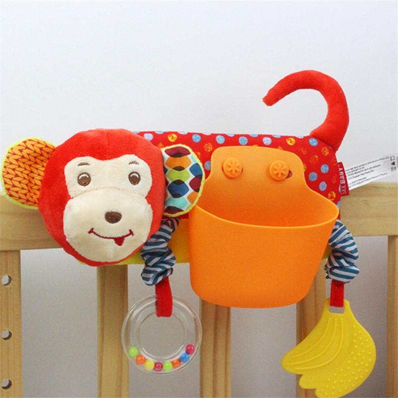 animal baby rattles toys