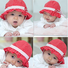 baby summer hat beautiful caps flower soft beanies hats Infant baby kids fashion hat 3 colors LM30(China)