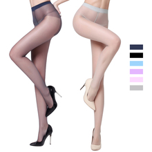 70D Ultra thin Women's sexy pantyhose Anti-UV Invisible tights ICE cream colors Female Nylon all sheer stockings Hosiery 6 color(China)