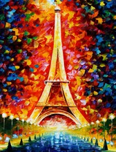 Romantic Paris wooden jigsaws puzzle 1000 wood puzzle 1000 pieces custom puzzle for adult children's educational toys(China)
