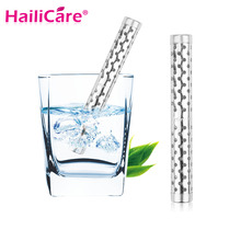 2pcs Alkaline Water Stick PH Hydrogen Negative ION Ionizer Minerals Wand Health Water Purifier Filter Treatment Travel Size