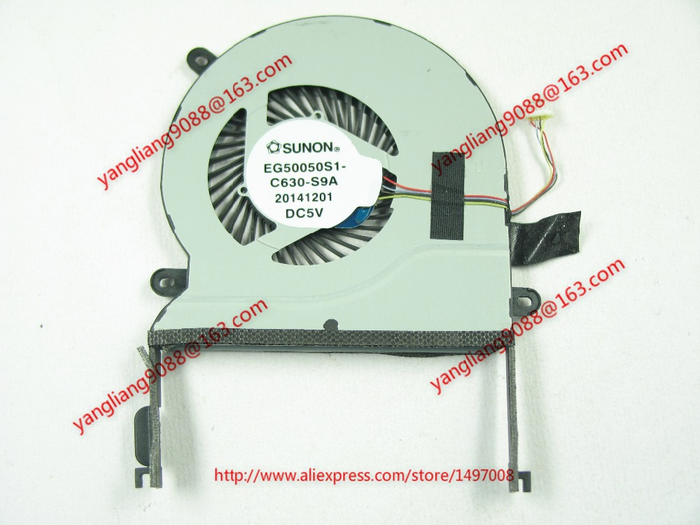 SUNON EG50050S1-C630-S9A DC 5V 4-wire 4-pin connector 60mm Server CPU Cooling fan<br>