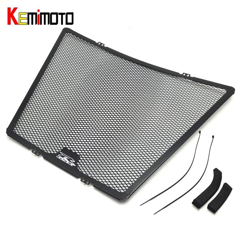 KEMiMOTO 2009-2016 GSXR 1000 Aluminum Radiator Grille Grills Guard Cover for Suzuki GSXR1000 2009 2010 2011 2012 2013 2014 15 16<br>