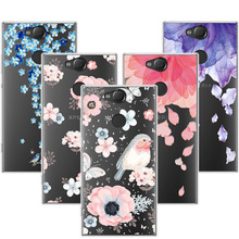 Buy 3D Art Print Case Coque Sony Xperia XA2 5.2 inch Flower Lace Relief Soft TPU Phone Cases Cover Sony XA2 XA 2 Funda Capa for $1.46 in AliExpress store