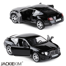 RMZ City 1:32 Bentley Continental GT V8 Vehicles Alloy Car Replica Authorized Original Factory Model Toys Kids Gift collection