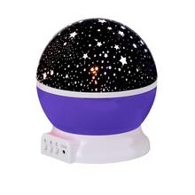 Rotating Sky Cosmos Star Night Romantic Projector Luminous Light Lamp Home Decor#89(China)