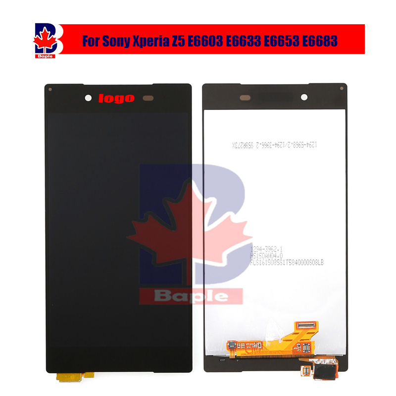 5.2100% Test For Sony Xperia Z5 E6603 E6633 E6653 E6683 White black Touch Screen Digitizer LCD Display Monitor Screen Assembly <br><br>Aliexpress
