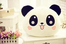 35cm Giant Panda Pillow Mini Stuffed Toy Doll Toy Bolster Pillow Doll Gift Valentine's Gift Kids