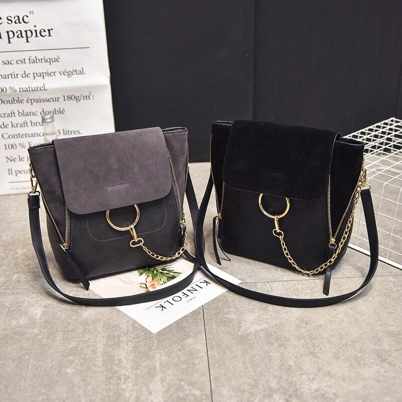 New arrival 2017 brand designer women crossbody bags vitage fashion Korean matte messenger bag shoulder bag ladies chain bags<br><br>Aliexpress