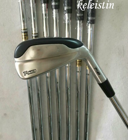 Hot sell keleistin T-MB Golf Irons Clubs 718 Golf Forged Irons With Steel Shaft Golf 718 Irons Brand golf T-MB 718 irons sets(China)