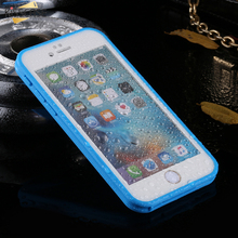 KISSCASE 360 Full Protective Soft Silicone Case For Iphone 6 6S Waterproof Case Smart touch Luxury Phone Cases For Iphone 6S