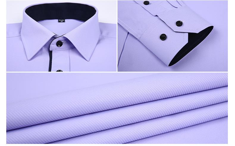 Dudalina Camisa Male Shirts Long Sleeve Men Shirt Brand Clothing Casual Slim Fit Camisa Social Striped Masculina Chemise Homme 14