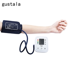 Gustala Automatic Arm Blood Pressure Pulse Monitor Health Care Digital Upper Portable Sphygmomanometer Family Health Care Tool