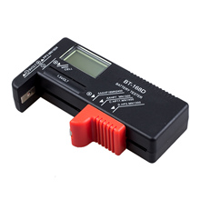 THGS New UK Battery Tester Volt Checker for 9V 1.5V and AA AAA Cell Batteries(China)