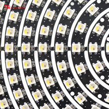 SK6812(similar ws2812b) RGBW 4 in 1 LED Ring Lamp RGB+Cool White led strip DC5V NEW 1 8 12 16 24 32 40 48 60 93 241 Bits LEDs