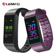 Buy LEMFO Wristbands Smart Band Heart Rate Monitor Fitness Bracelet IP67 Waterproof Smart Band Blood Pressure IOS Android Phone for $23.99 in AliExpress store