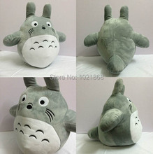 Cartoon My Neighbor Totoro lovely soft plush gray action figure stuffed toy doll 12inches