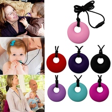 Baby Molar Safety Accessories Teether Silicone Teething Necklace