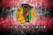 Custom Canvas Wall Decor Blackhawks Poster Chicago Blackhawks Decals NHL Logo Wallpaper Ice Hockey Stickers Office Mural #1465#