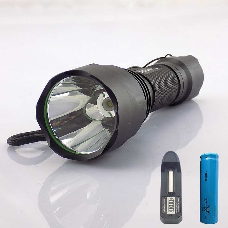 Q5 T6 L2 LED Flashlight Powerful Flash Torch Light 18650 Battery Charger 2000lm Recargable Sport Tactical Torch lamp