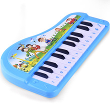 Children 's Cartoon 24 Key Music Piano Puzzle Early Childhood Education Piano Electric Simulation Small Piano Toys