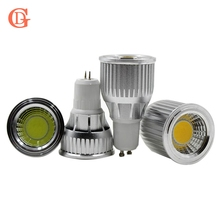 3W 5W 7W 9W 10 12W COB Dimmable Gu10 LED spotlight bulb E27 E14 Gu5.3 Spot Light Dimmable AC85-265V LED Gu10 Downlight()