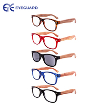 EYEGUARD 5 PACK UNISEX Wooden Looking Readers Spring Temples Including One Sun-readers UV 400 Protection Outdoor(China)