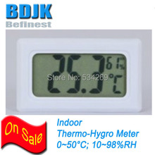 New Indoor Digital Humidity Meter & Temperature Teseter Free Shipping