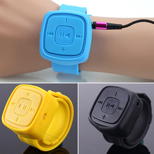 Fashion USB 2.0 Mini Sports Wrist MP3 Music Player Supported 32G Micro TF Card
