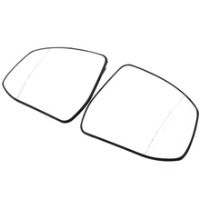 POSSBAY Car Styling Side Heated Wind Door Mirror Glass Fit for Ford Focus II (DA / DAW) from model year 02/2008 Rearview Mirrors(China)
