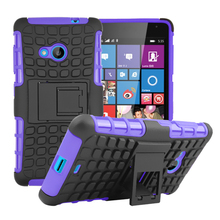 Heavy Duty For Nokia Lumia 535 Rugged Spider Hybrid Armor Stand Phones Case Hard Shock Proof Back Cover