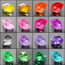 Acrylic Crystal Stone Home Garden Aquarium Decor DIY Accessories Wedding Decoration Plastic Craft