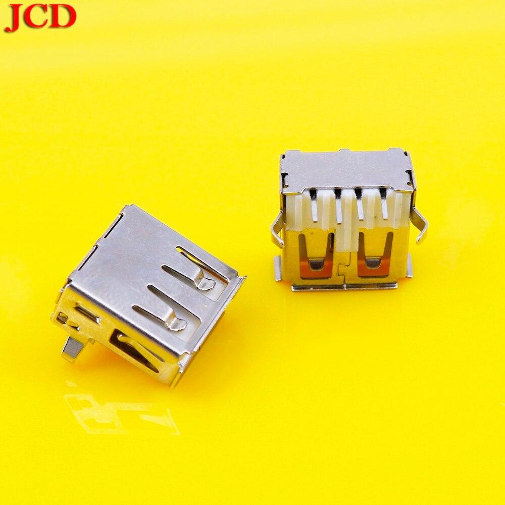 10//20//30pcs USB 2.0 Female Type A Port 4-Pin DIP 90 Degree Jack Socket Connector
