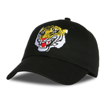 2017 Bulldog Animal Cartoon Image Embroidery Baseball Cap Cotton Male High Quality Snapback Hat Dad Hat Casquette Femme Marque