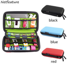 New Portable Digital Products Pouch Waterproof Travel Storage Bag for Phone USB Flash Drive Earphone Health USB Key Organizers
