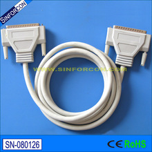 1.5m DB25 male - DB25 male parallel printer cable