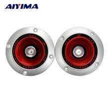 Aiyima 2pcs 4inch 4ohm 20W Plastic car subwoofer colorful flashing light treble Round speaker stage stereo dedicated(China)
