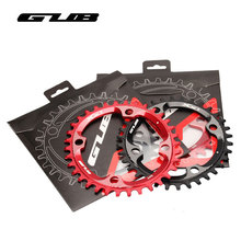 Buy GUB XX11 34/36T Bicycle Chainwheel MTB Mountain Bike Oval Crankset Chainring CNC Aluminum Alloy Cycling Parts 2 Colors BCD104 for $26.74 in AliExpress store