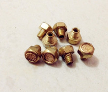 20 PCS BSLM M5 Size flat Air silencers, air mufflers, brass made(China)