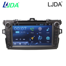 Quad-Core Car DVD Player Android 6.0 system For Toyota old corolla Gps navigation 2din 8inch Steering Wheel Control Autoradio