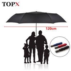 Высококачественный бренд, большой складной зонт для мужчин, дождевая женщина, двойной гольф, бизнес-подарок, зонт, автоматические ветрозащи...