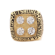 1979 American football Pittsburgh Steelers Super Bowl sale replica championship ring Fast shipping STR0-204