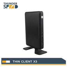 Linux Thin Client Cloud Computer X3 with A9 Dual Core 1.5Ghz 1G RAM 4G Flash Linux 3.0 Embedded RDP 7.1 Protocol(China)