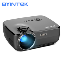 BYINTEK Brand SKY GP70 Portable Mini LED Cinema Video Digital HD Home Theater Projector Beamer Proyector with USB HDMI(China)