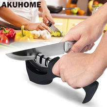 3 In 1 Professional Knife Sharpener Diamond Tungsten Steel Carbide Ceramic Knife Sharpening Kitchen Tools