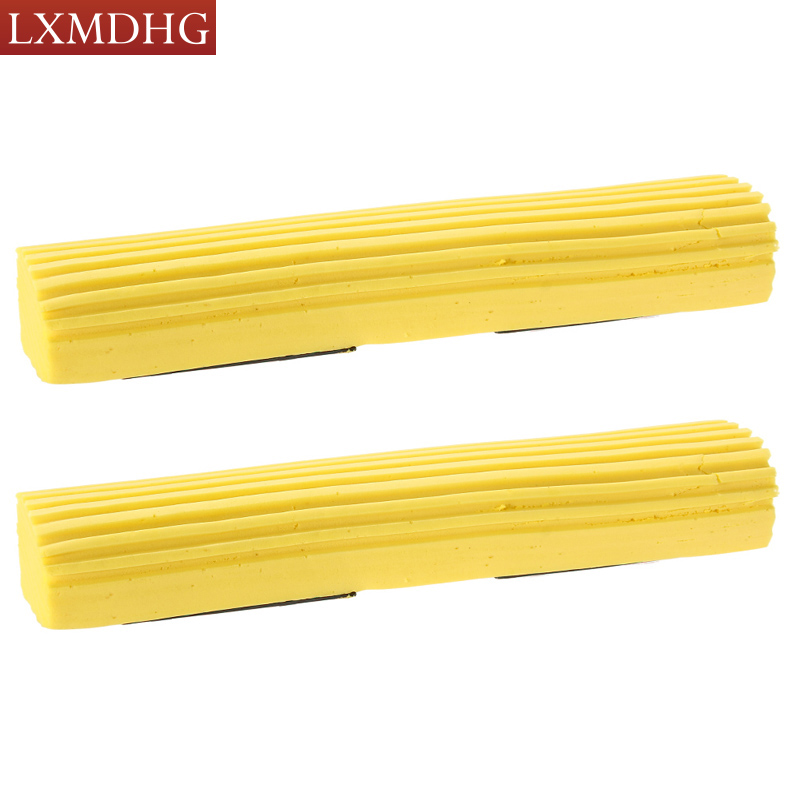 2 PCS Household roller Sponge Mop Head Refill Replacement Home Floor Cleaning Tool Free Shipping(China (Mainland))